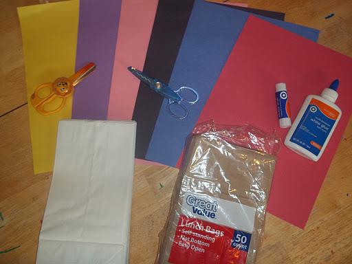 Making Paper Bag Puppets | ThriftyFun | 384x512