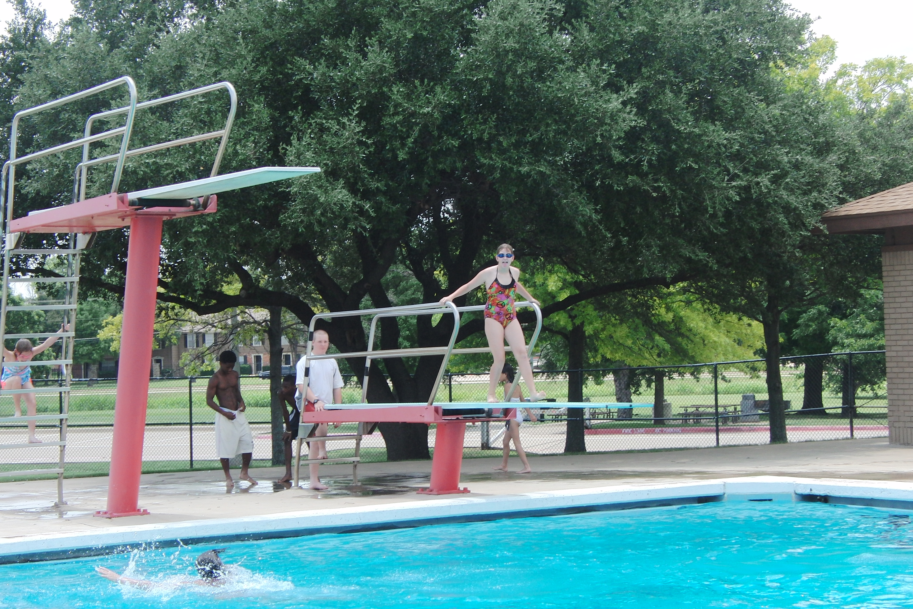 Allen Bolden Pool Arlington