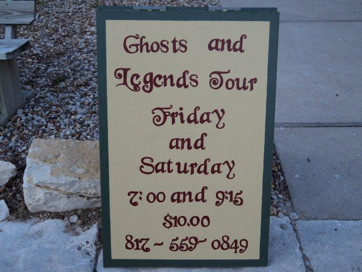 Granbury Ghost Tour