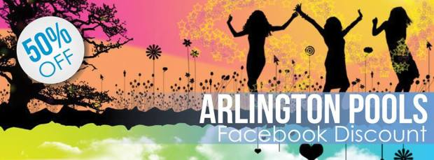 2013 Arlington pools discount