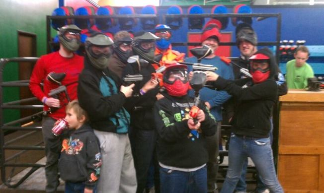 Cole paintball
