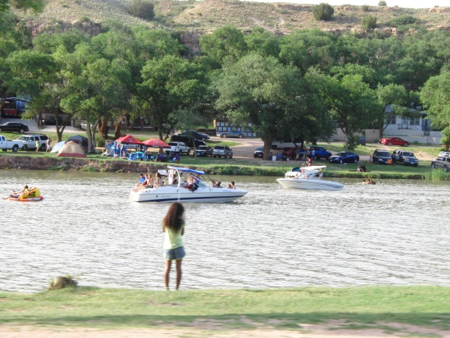Buffalo Springs Lake Lubbock Having Fun In The Texas Sun