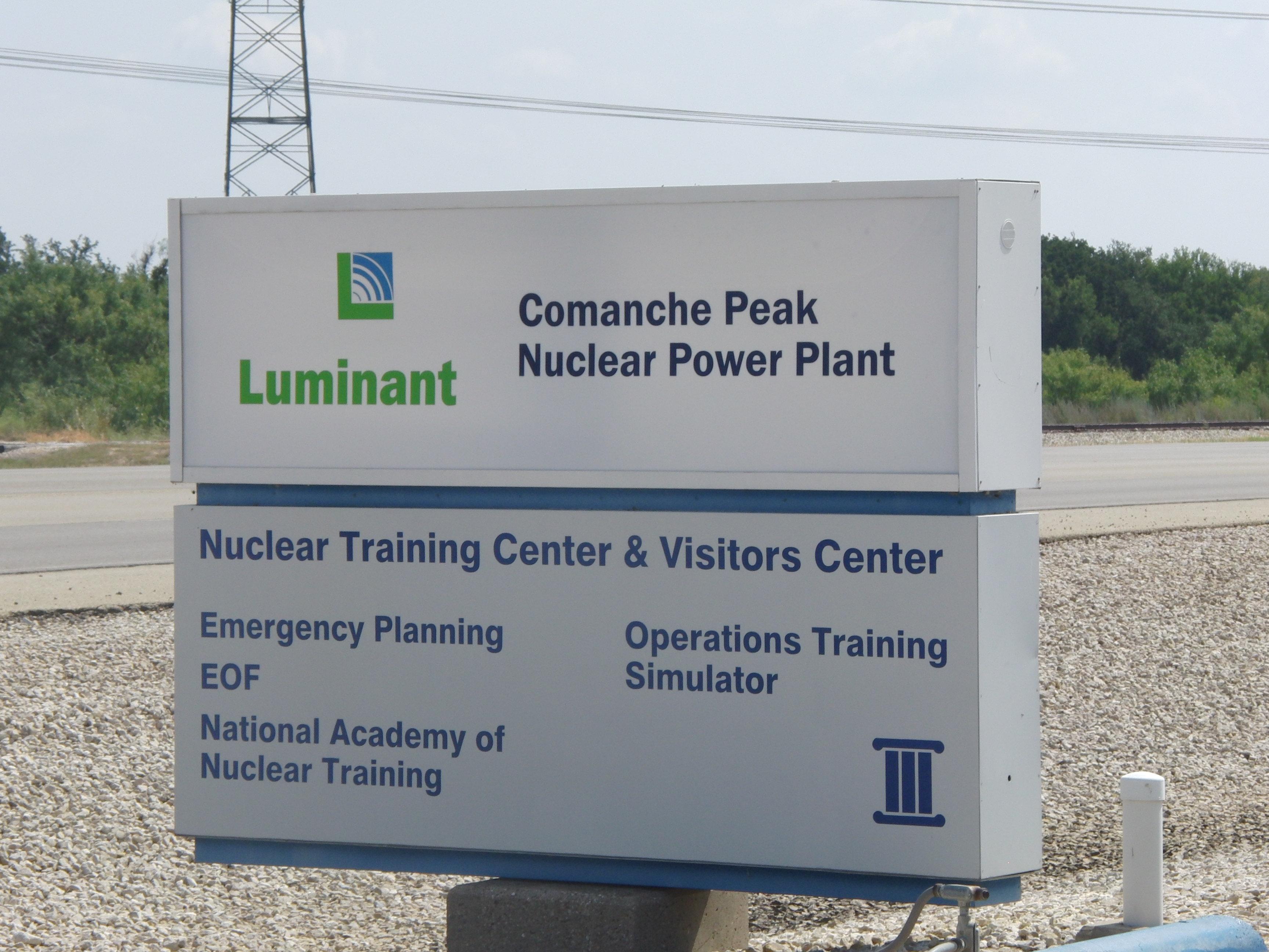 Glen Rose Nuclear Power Plant Tour