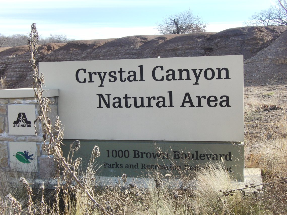 Crystal Canyon Natural Area Arlington Texas