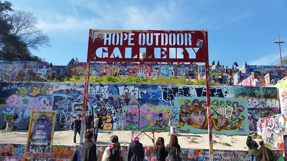 Graffiti Park At Castle Hills Hope Outdoor Gallery Austin