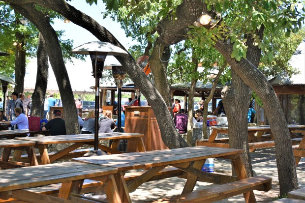 The Salt Lick BBQ in Driftwood, Texas