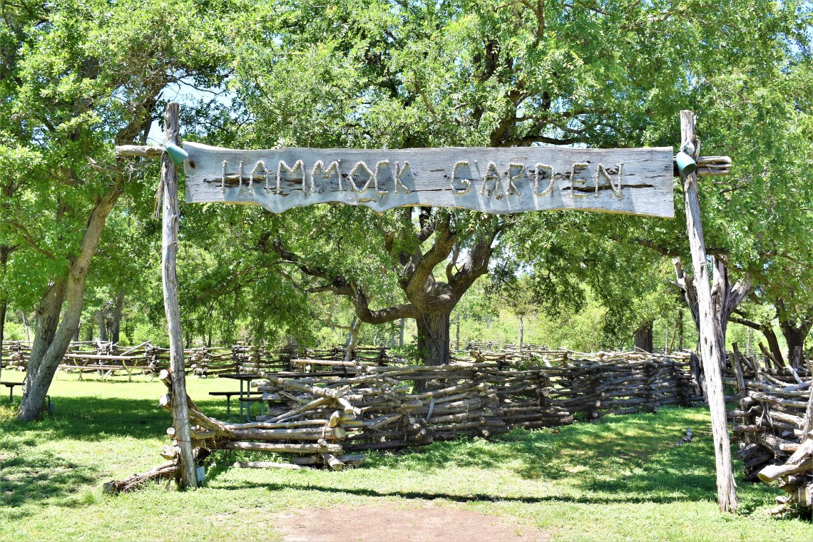 Hammock Garden at The Salt Lick BBQ in Driftwood Texas