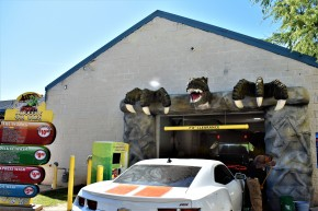 Jurassic Car Wash in Austin