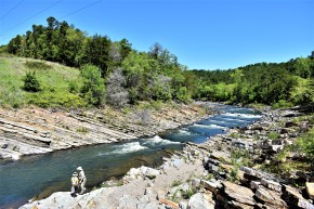 Beavers Bend State Park Broken Bow Mountain Fork River Fly Fishing