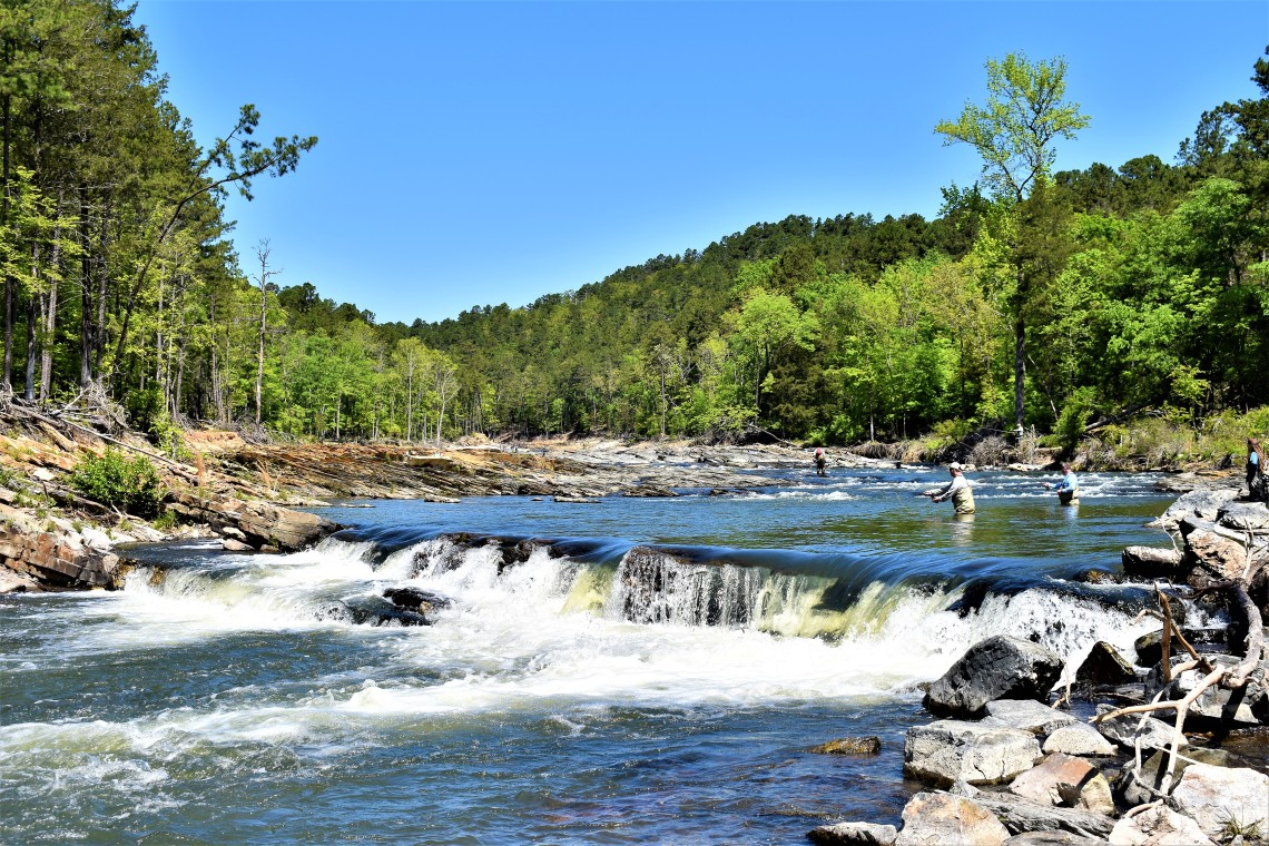 Beavers Bend State Park Broken Bow Mountain Fork River