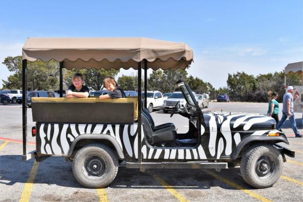 fossil rim jeep