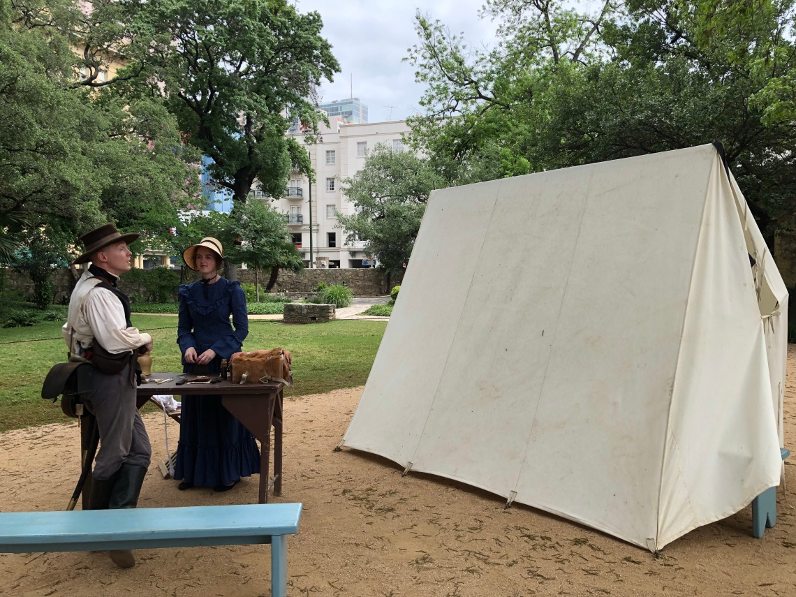 Living History Demonstations at the Alamo, San Antonio