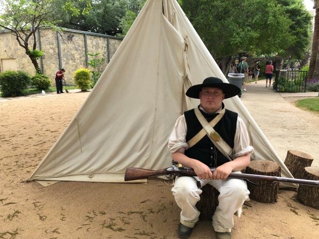 Living History Demonstrations at the Alamo, San Antonio