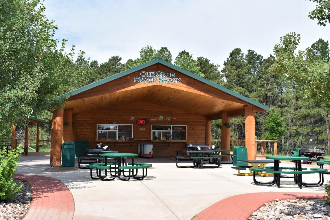Cub Crib Snack Shack at Bear Country U.S.A. Rapid City South Dakota