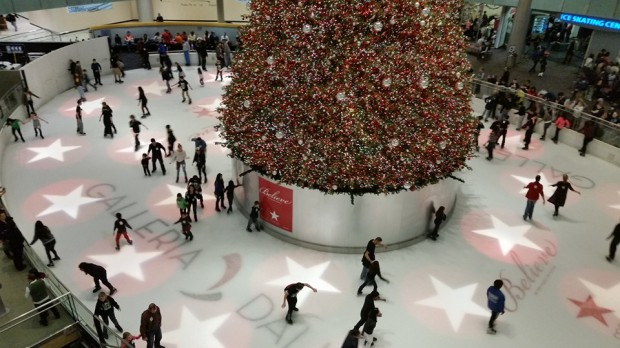 galleria ice skating
