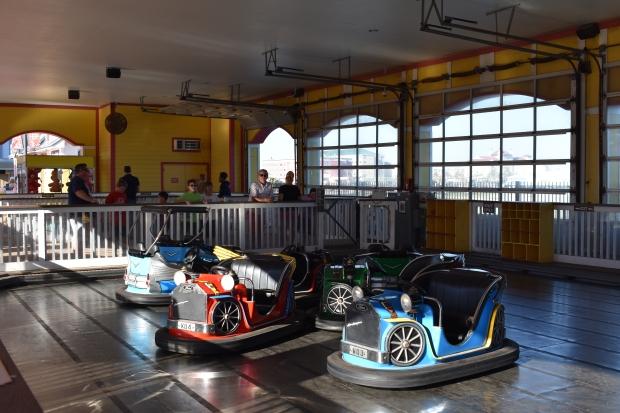 Bumper cars at Galveston Island Historic Pleasure Pier