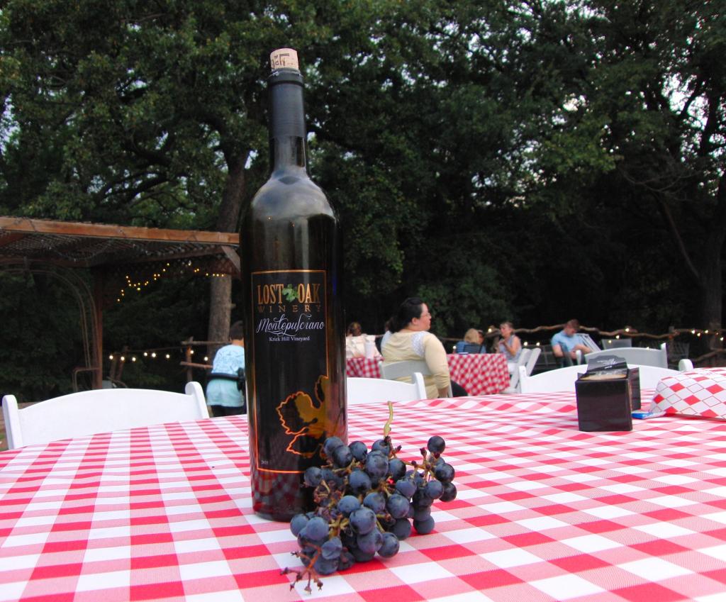 Lost Oak Winery in Burleson
