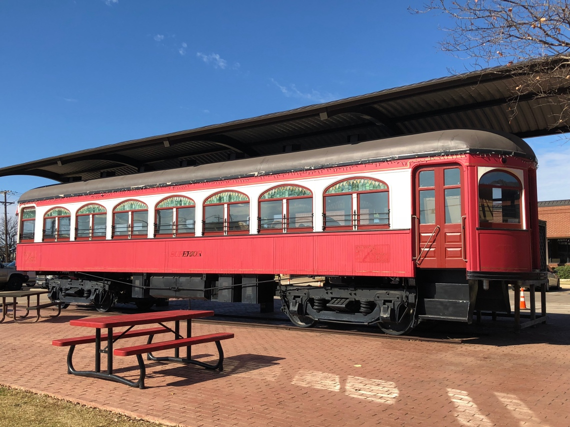 Streetcars in Old Town Burleson