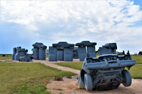 Carhenge in Nebraska