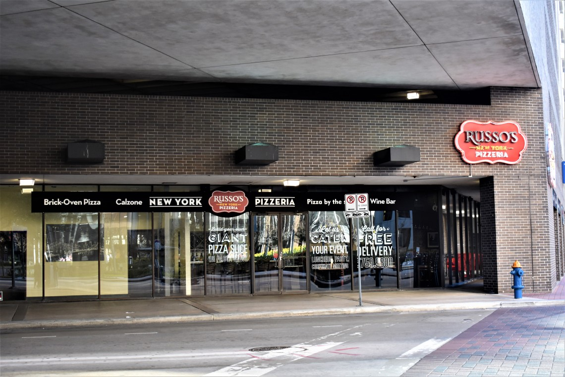 Russo's New York Pizzeria, Downtown Houston