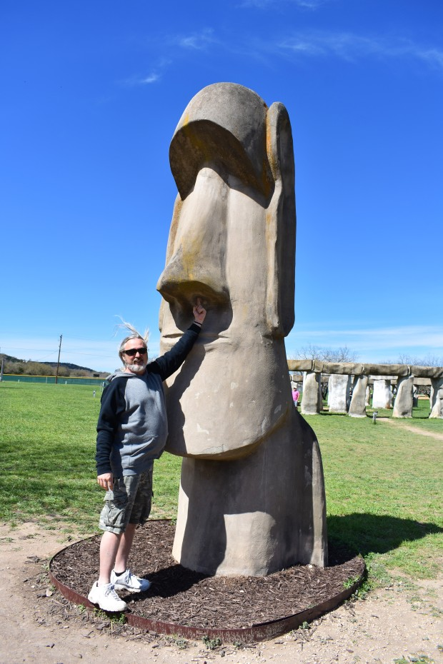 Stonehenge II in Ingram Texas