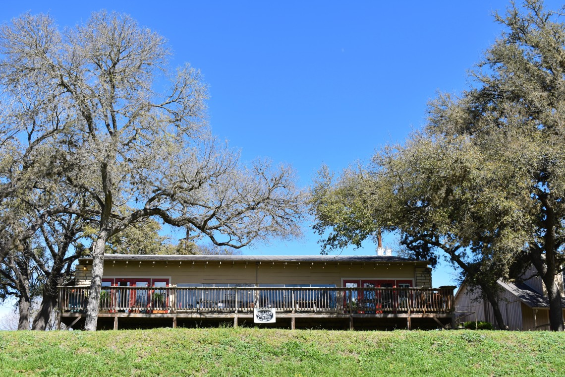 Chi Cho's Restaurant at Stonehenge II overlooks the Guadalupe River in Ingram Texas