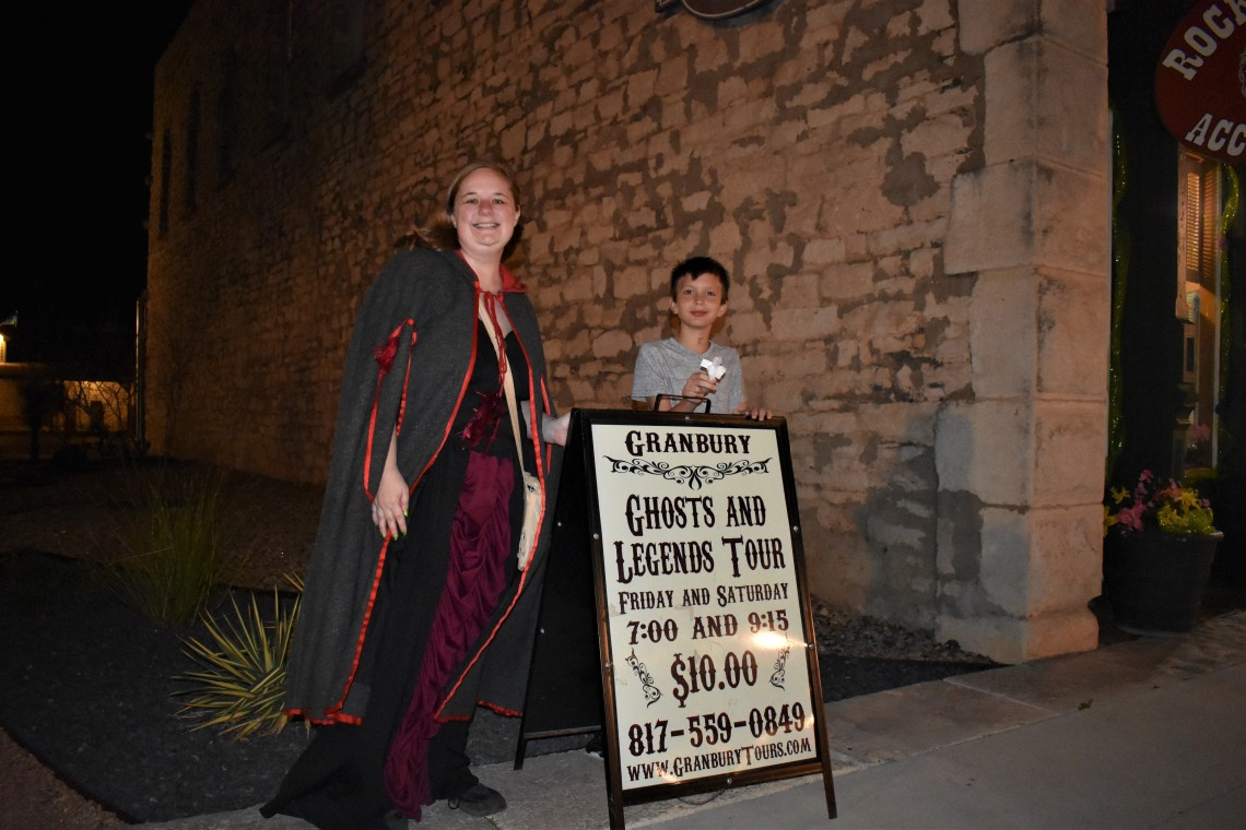 Granbury Ghost and Legends Tour