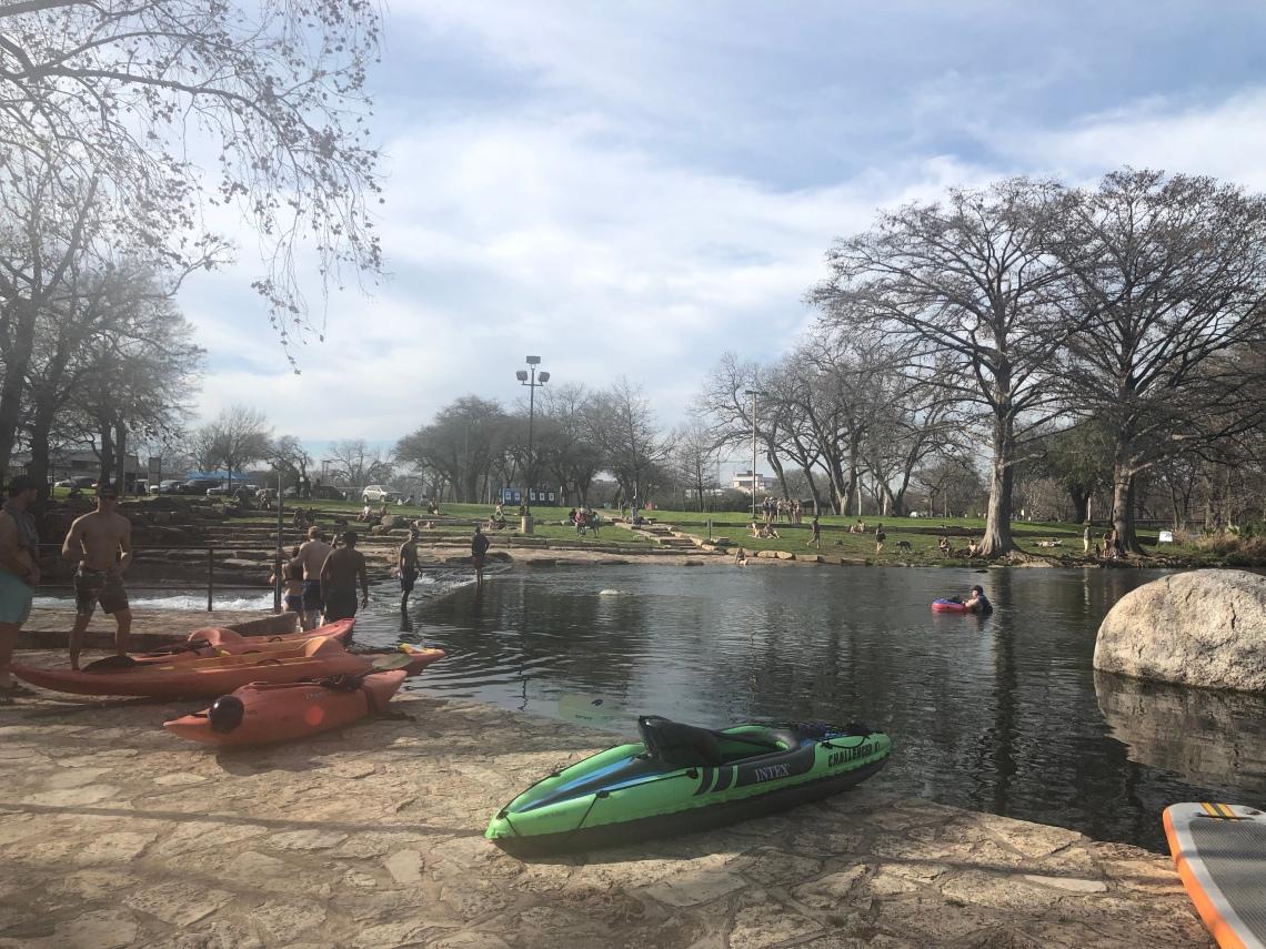 Rio Vista Park, San Marcos