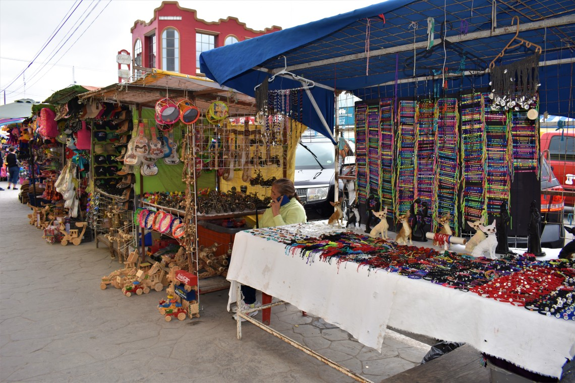 Shopping in Nuevo Progreso, in the state of Tamaulipas, Mexico