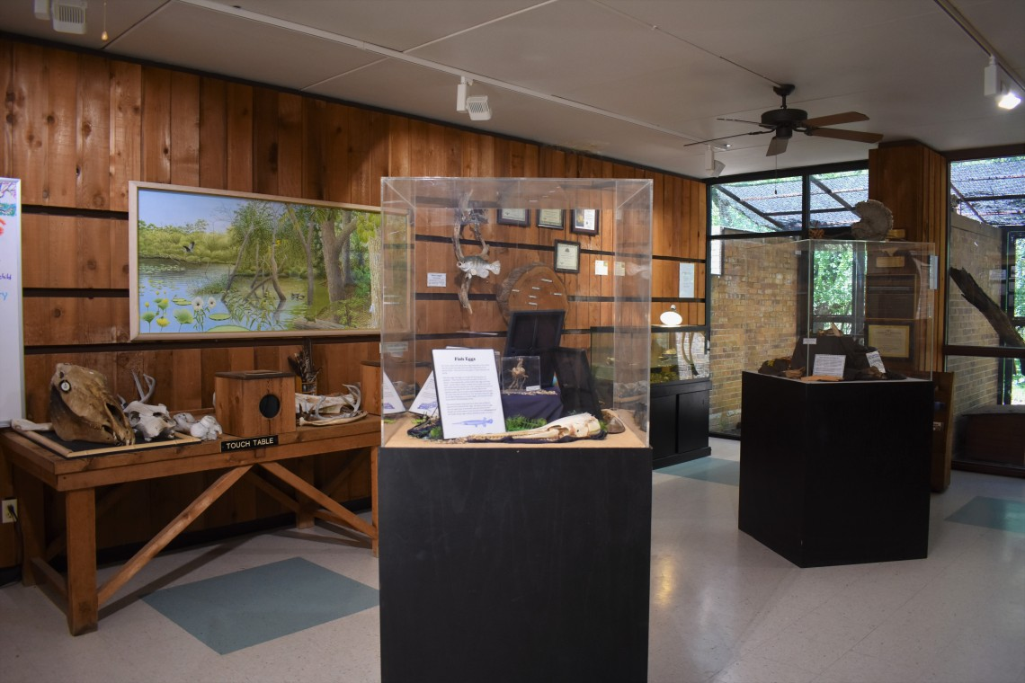 Hardwicke Interpretive Center at the Fort Worth Nature Center
