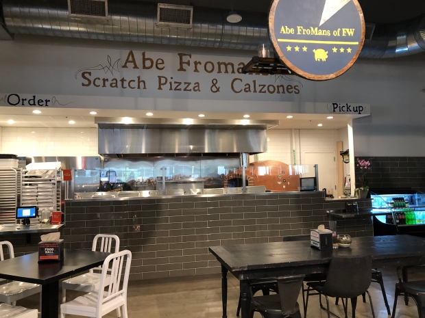 Abe Froman's of Fort Worth at the Food Hall on Crockett Row
