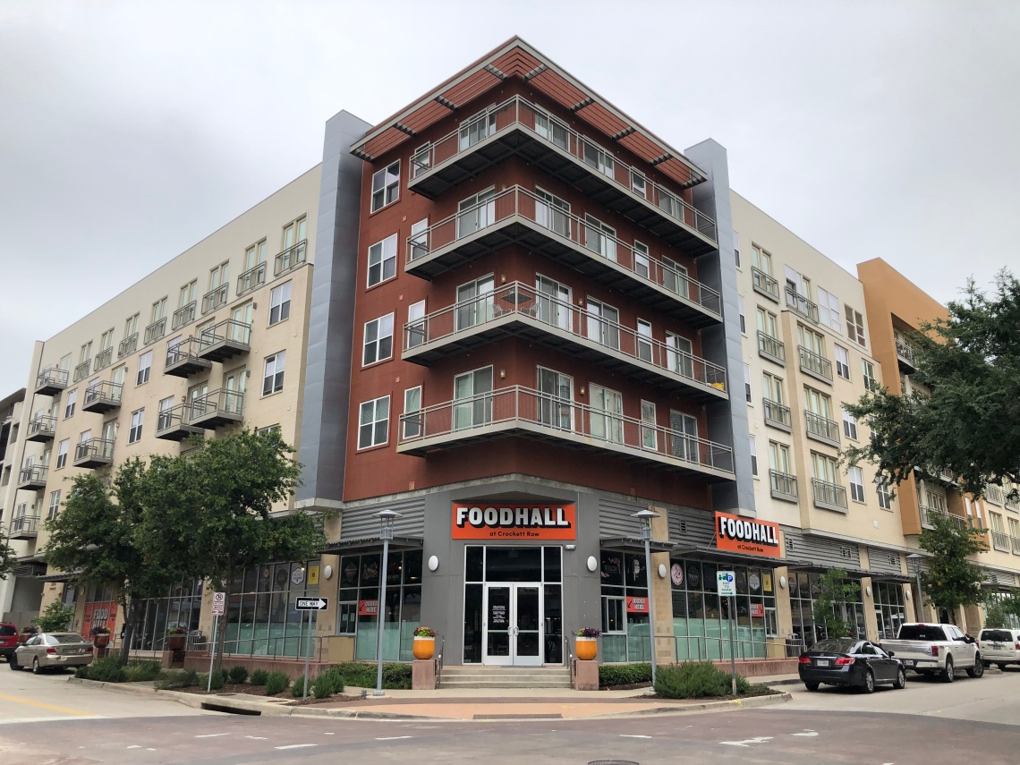 The Food Hall at Crockett Row in Fort Worth