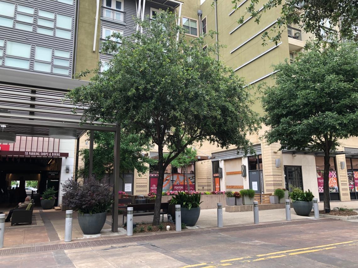 Crockett Row in Fort Worth