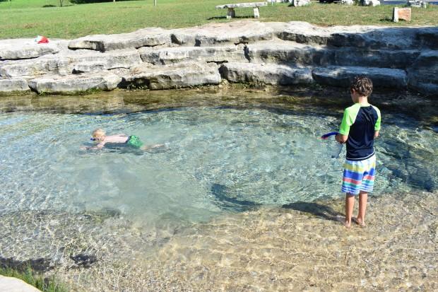 Sirena Park on Salado Creek