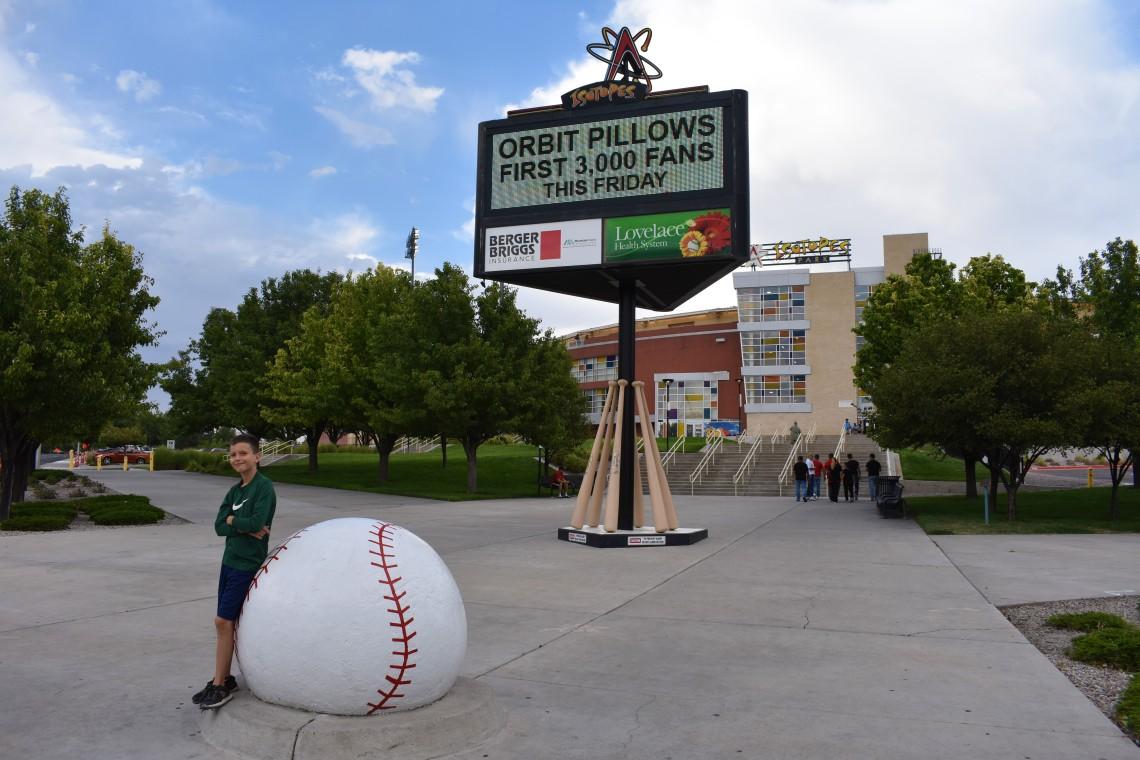 Albuquerque Isotopes Baseball