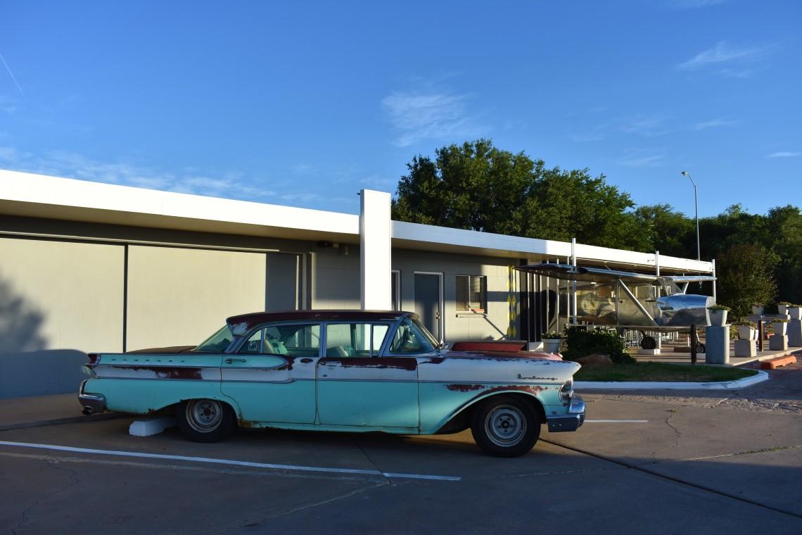 Historic Route 66 Hotel in Tucumcari New Mexico