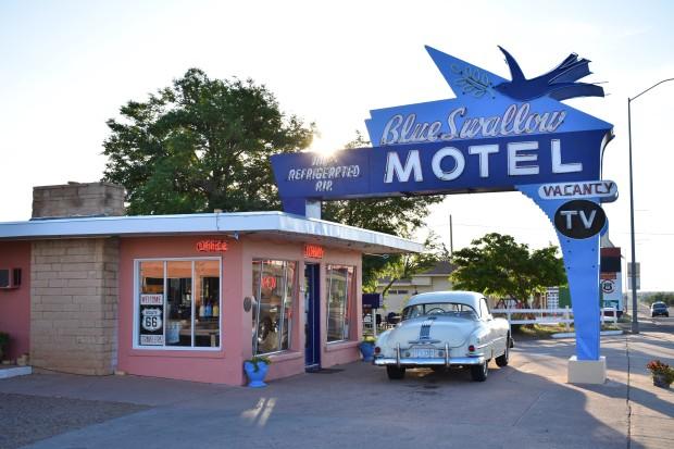Blue Swallow Motel in Tucumcari New Mexico