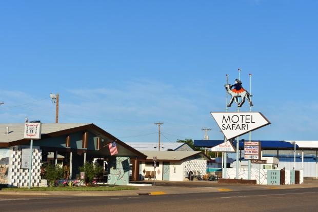 Motel Safari in Tucumcari New Mexico