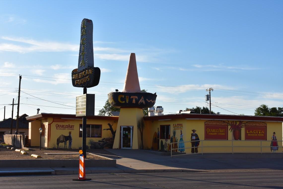 La Cita Sombrero Mexican Restaurant in Tucumcari, New Mexico