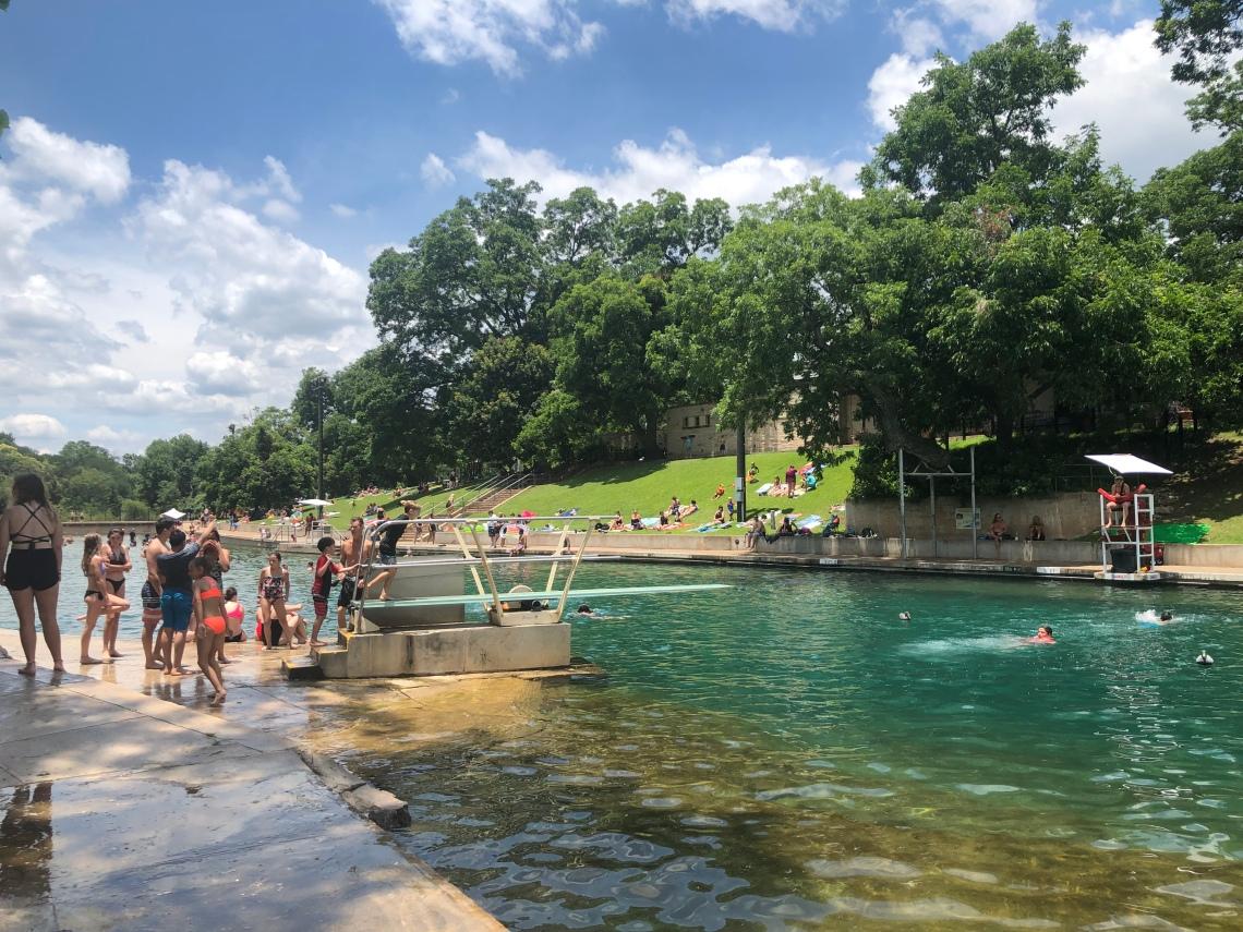 Barton Springs Swimming Pool, Austin
