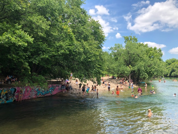 Barton Springs Swimming Pool, Austin