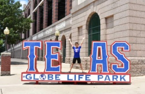 Texas Rangers at Globe Life Park in Arlington