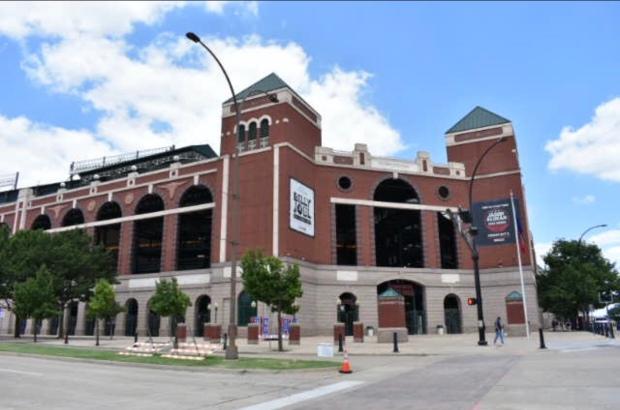 Texas Rangers at Globe Life Park in Arlington