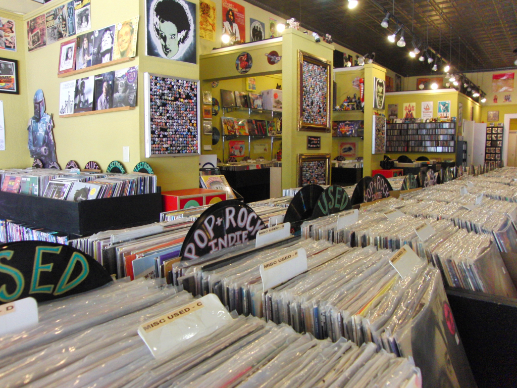 Mad World Records in Denton
