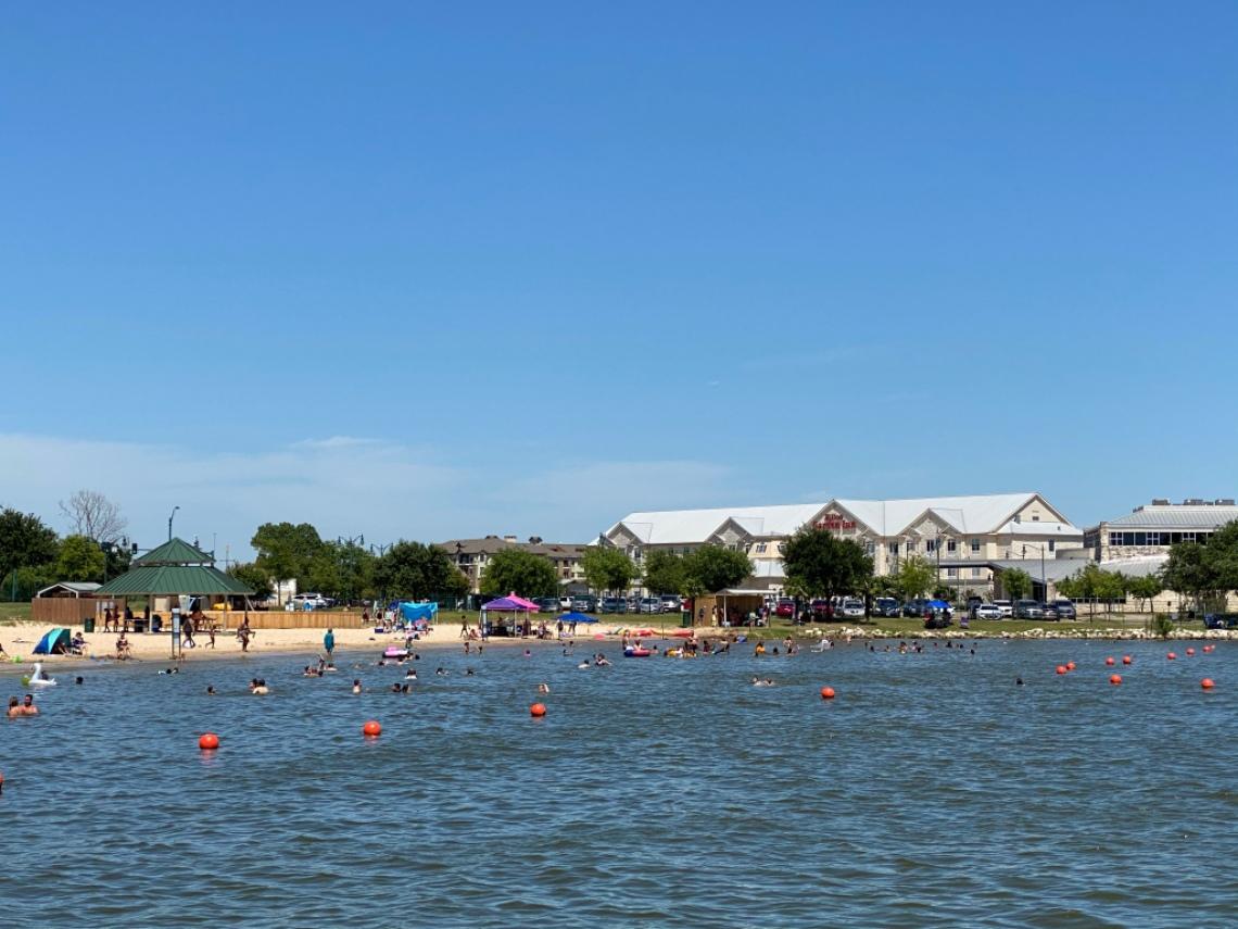 Lake Granbury City Beach Park Hilton Garden Inn Texas